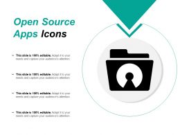 Open Source Apps Icons