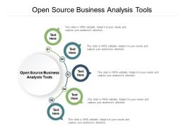 Open Source Business Analysis Tools Ppt Powerpoint Presentation Layouts Images Cpb