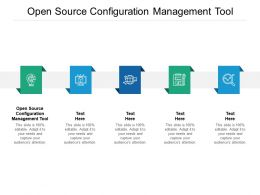 Open Source Configuration Management Tool Ppt Powerpoint Presentation Ideas Graphic Images Cpb