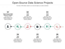 Open Source Data Science Projects Ppt Powerpoint Presentation Ideas Structure Cpb