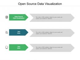 Open Source Data Visualization Ppt Powerpoint Presentation Ideas Templates Cpb