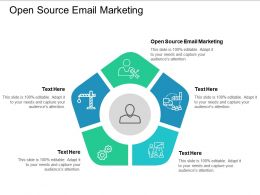 Open Source Email Marketing Ppt Powerpoint Presentation File Master Slide Cpb