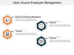 Open Source Employee Management Ppt Powerpoint Presentation Slides Graphic Tips Cpb