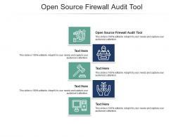 Open Source Firewall Audit Tool Ppt Powerpoint Presentation Ideas Skills Cpb