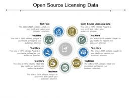 Open Source Licensing Data Ppt Powerpoint Presentation Show Ideas Cpb