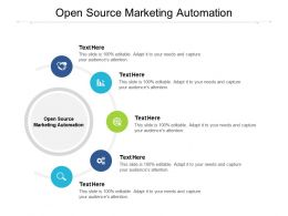 Open Source Marketing Automation Ppt Powerpoint Presentation Slides Example File Cpb