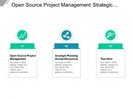 Open Source Project Management Strategic Planning Human Resources Cpb