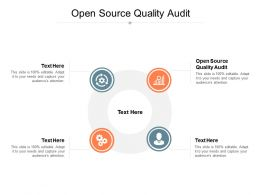 Open Source Quality Audit Ppt Powerpoint Presentation Summary Clipart Images Cpb