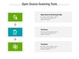 Open Source Scanning Tools Ppt Powerpoint Presentation Ideas Aids Cpb