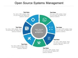 Open Source Systems Management Ppt Powerpoint Presentation File Outline Cpb