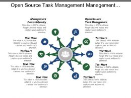 Open Source Task Management Management Control Quality Schedule Performance Cpb