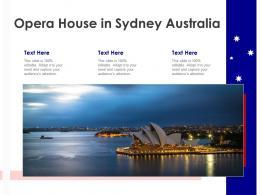 Opera House In Sydney Australia