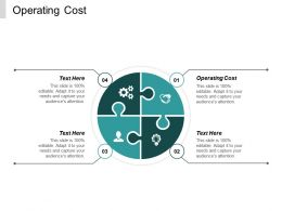 Operating Cost Ppt Powerpoint Presentation Professional Layouts Cpb