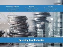 Operating Cost Reduction Ppt Powerpoint Presentation Styles Themes Cpb