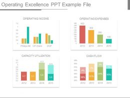Operating Excellence Ppt Example File