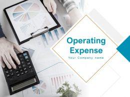 Operating Expense Powerpoint Presentation Slides