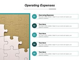 Operating Expenses Ppt Powerpoint Presentation File Elements Cpb