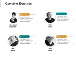Operating Expenses Ppt Powerpoint Presentation Inspiration Samples Cpb