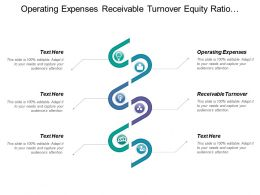 Operating Expenses Receivable Turnover Equity Ratio Ending Cash