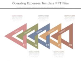 Operating Expenses Template Ppt Files