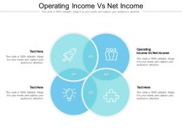 Operating Income Vs Net Income Ppt Powerpoint Presentation Slides Format Ideas Cpb