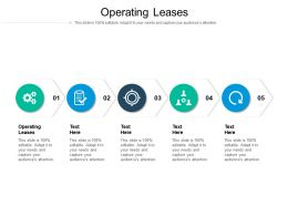 Operating Leases Ppt Powerpoint Presentation Infographics Brochure Cpb