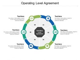 Operating Level Agreement Ppt Powerpoint Presentation Infographic Template Ideas Cpb