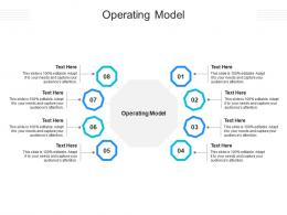 Operating Model Ppt Powerpoint Presentation Inspiration Example Cpb