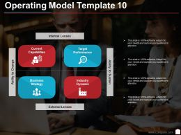 Operating Model Template 10 Ppt Slides Download