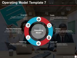 Operating Model Template 7 Ppt Infographics Template