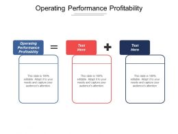 Operating Performance Profitability Ppt Powerpoint Presentation Icon Designs Cpb
