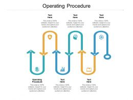 Operating Procedure Ppt Powerpoint Presentation Icon Tips Cpb