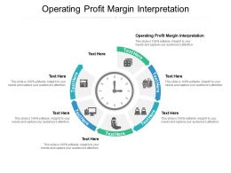 Operating Profit Margin Interpretation Ppt Powerpoint Presentation Layouts Files Cpb