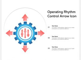 Operating Rhythm Control Arrow Icon