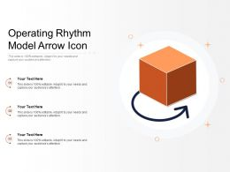 Operating Rhythm Model Arrow Icon