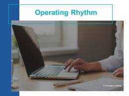 Operating Rhythm Powerpoint Presentation Slides