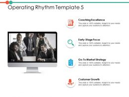 Operating Rhythm Ppt Powerpoint Presentation File Example File