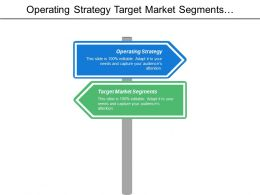 Operating Strategy Target Market Segments Business Strategy Must