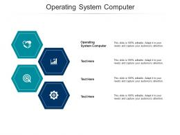 Operating System Computer Ppt Powerpoint Presentation File Shapes Cpb