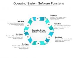 Operating System Software Functions Ppt Powerpoint Presentation Portfolio Example Cpb