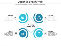 Operating System Work Ppt Powerpoint Presentation Gallery Samples Cpb