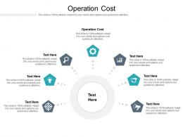 Operation Cost Ppt Powerpoint Presentation Gallery Show Cpb