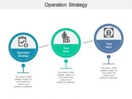 Operation Strategy Ppt Powerpoint Presentation Icon Guidelines Cpb