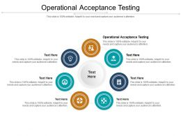 Operational Acceptance Testing Ppt Powerpoint Presentation Gallery Clipart Cpb