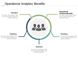 Operational Analytics Benefits Ppt Powerpoint Presentation Pictures Background Cpb