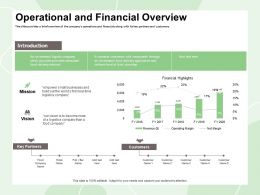 Operational And Financial Overview Empower Small Ppt Powerpoint Presentation File Example File