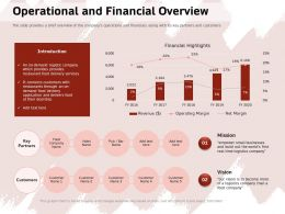 Operational And Financial Overview Ppt Powerpoint Presentation Icon Guide