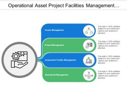 Operational Asset Project Facilities Management With Icons
