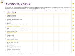 Operational Checklist Ppt Powerpoint Presentation Show Designs Download