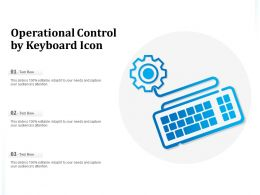 Operational Control By Keyboard Icon